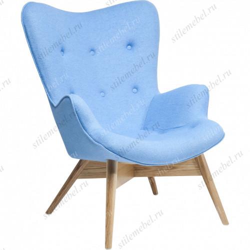 Дизайнерское кресло Крылья Ангела (Angels Wings) голубое