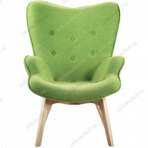 Дизайнерское кресло Крылья Ангела (Angels Wings) зеленое