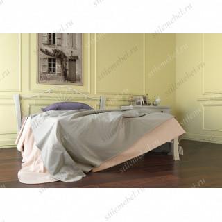 Кровать Фортуна 4 ЛАЙТ белый/белый (140х200)