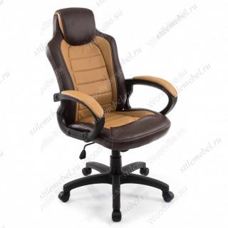 Компьютерное кресло Kadis коричневое/бежевое
