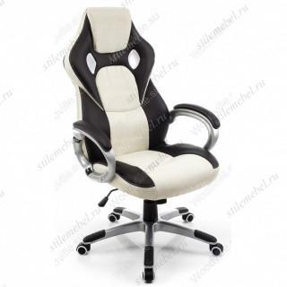 Компьютерное кресло Navara кремовое/черное