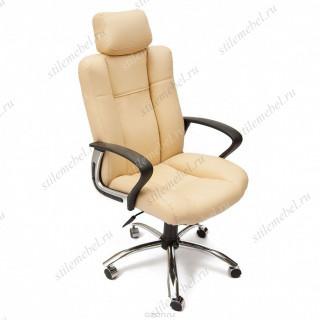 Компьютерное кресло «Оксфорд» (Oxford) бежевый / экокожа
