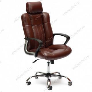 Компьютерное кресло «Оксфорд» (Oxford) коричневый / экокожа