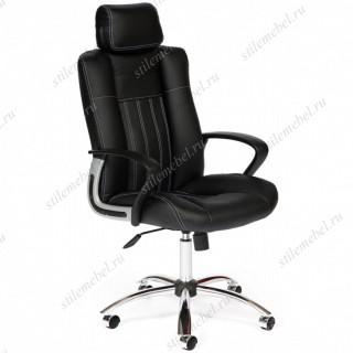 Компьютерное кресло «Оксфорд» (Oxford) черный / экокожа